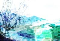 「ステンドグラスな風景」 04「朝日を受けて」