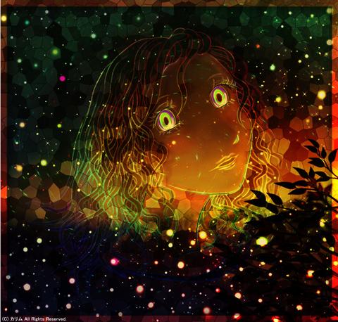 「人物画」04「Green Forest」