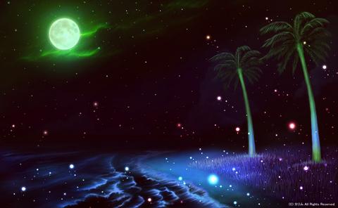 「南の小島と夏の海」07「夜の帳が下りて」(ファンタジー)