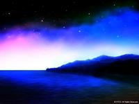 「海のある風景」03「夜の帳が下りて」(カラー)