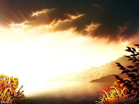 「風景画2014」「海辺の風景」01「夕日を浴びて」.jpg