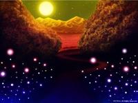 「WONDER WORLD」04「オーブ達の集まり」03(カラー)